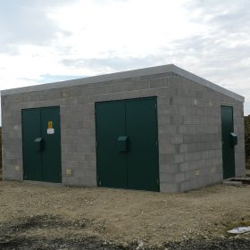 Block Built Substation in Lancashire